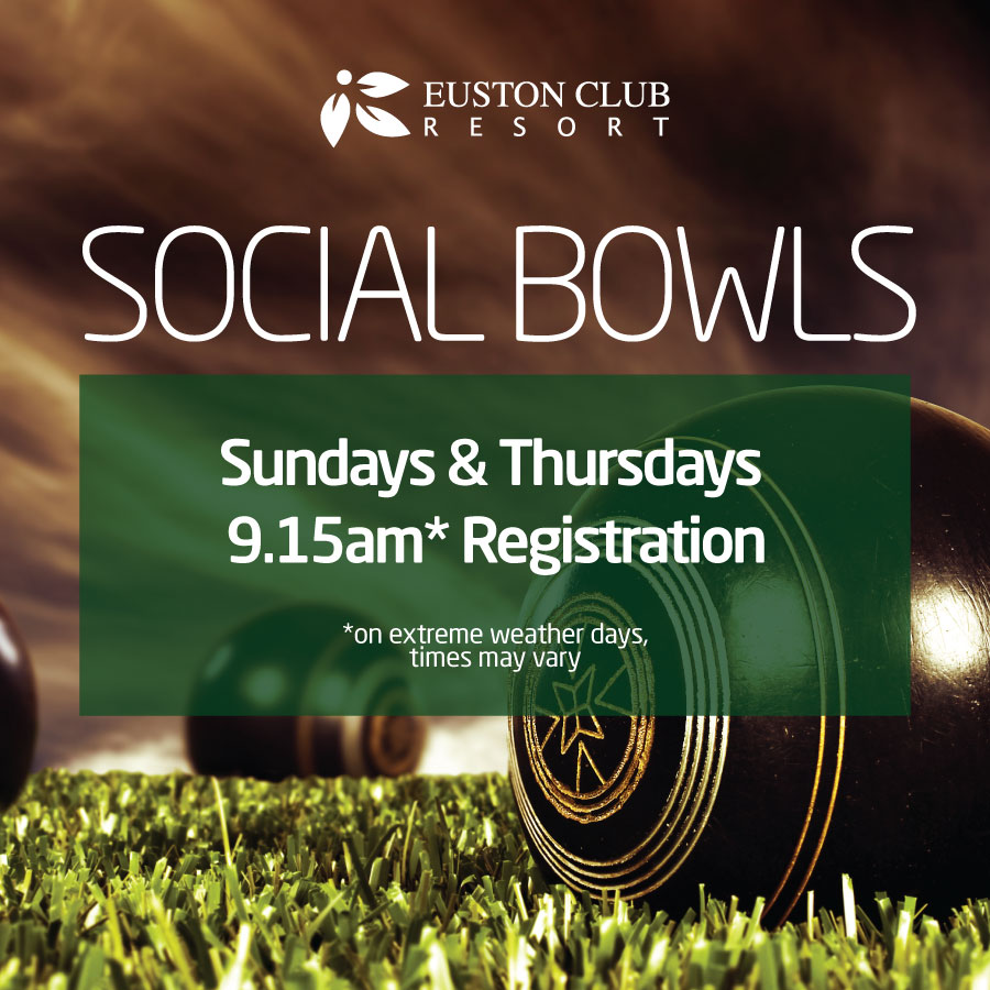 Social Bowls at the Euston Club Resort