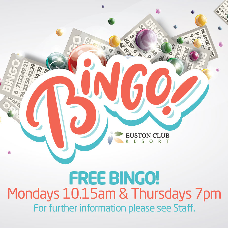 Euston, Club, Resort, Free, Bingo, Euston, Robinvale