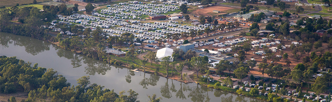 Robinvale RV Rally aerial