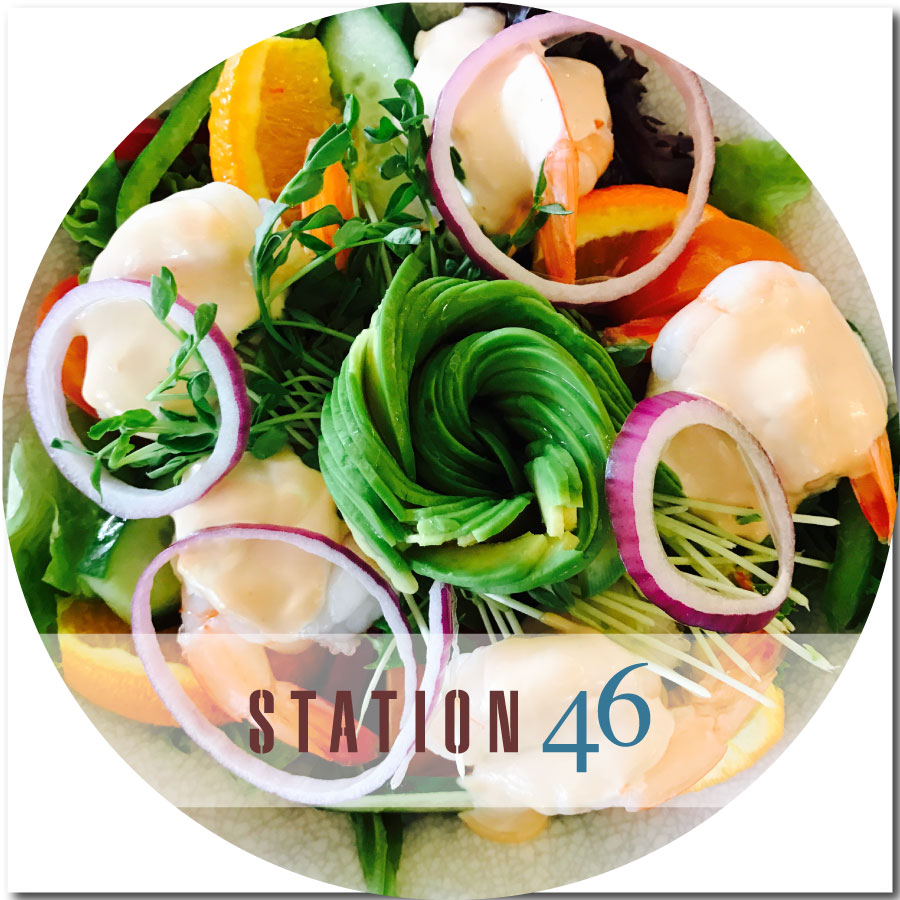 station46 Prawn & Avocado Salad