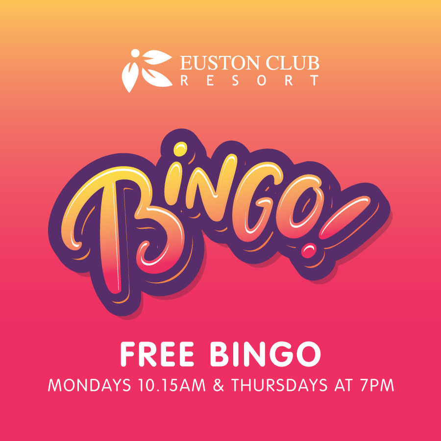 Euston Club Resort Free Bingo