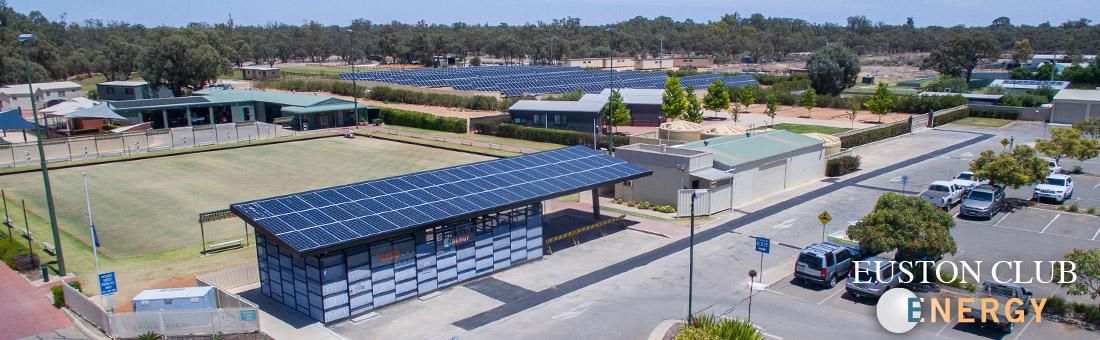 Euston Club Energy Park Microgrid