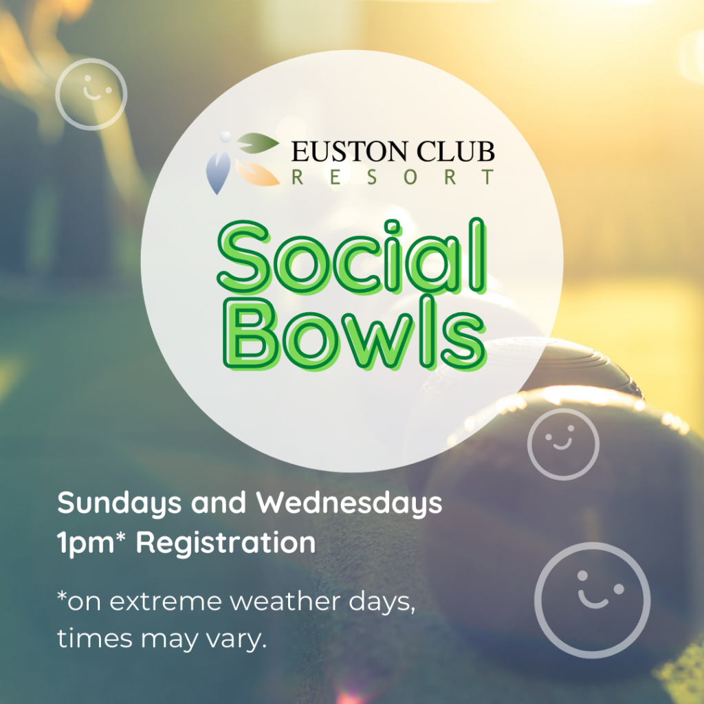 Social Bowls at the Euston Club Resort