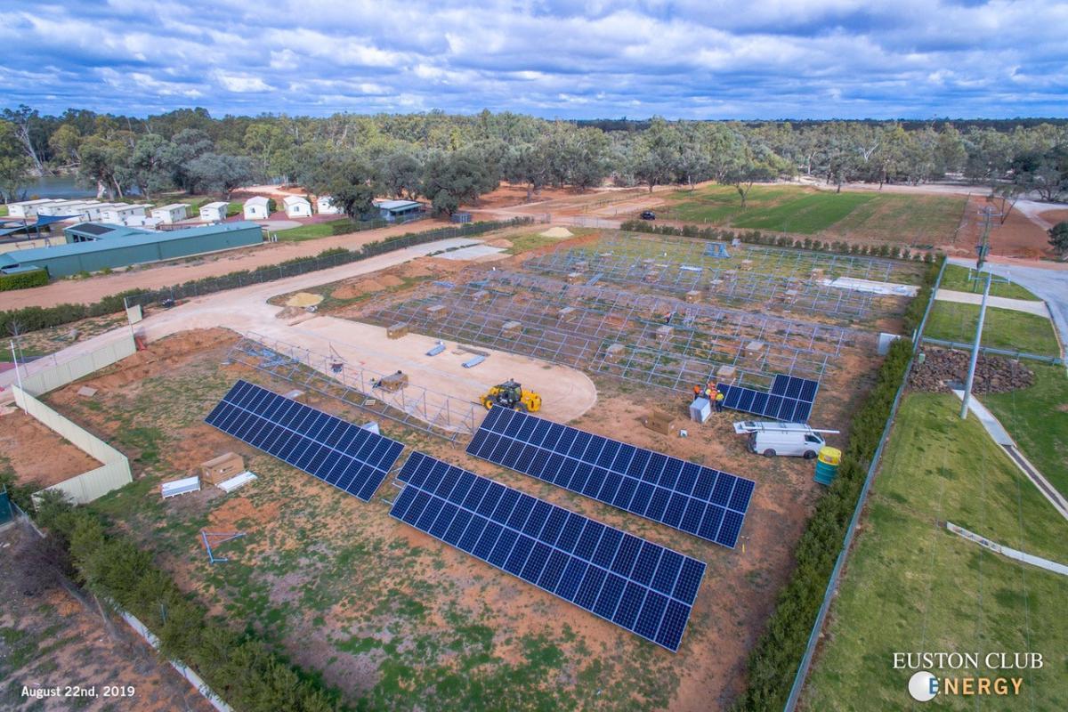 Euston Club Energy Solar Farm