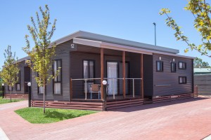 Euston Club Resort Cabin 12 external
