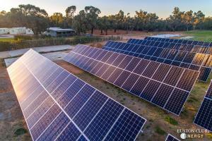 Euston Club Energy Park Solar Microgrid